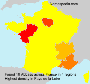 Surname Abbass in France