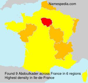 Surname Abdoulkader in France