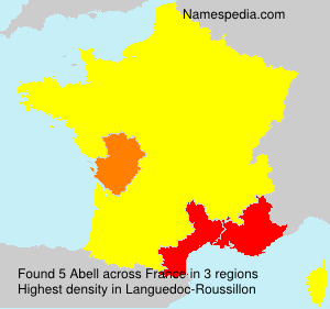 Surname Abell in France