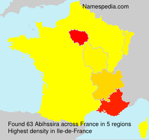 Surname Abihssira in France