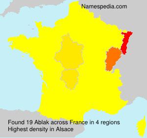Ablak - France