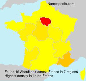 Familiennamen Aboulkheir - France