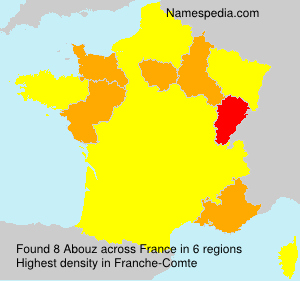 Familiennamen Abouz - France