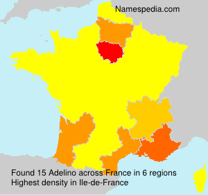 Surname Adelino in France