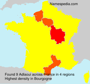 Surname Adlaoui in France