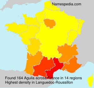 Familiennamen Aguila - France