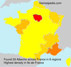 Surname Aibeche in France