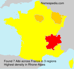 Surname Aibi in France