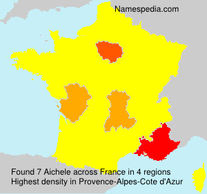 Surname Aichele in France