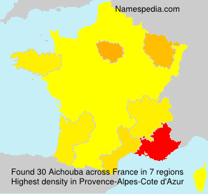 Surname Aichouba in France