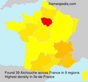 Surname Aichouche in France