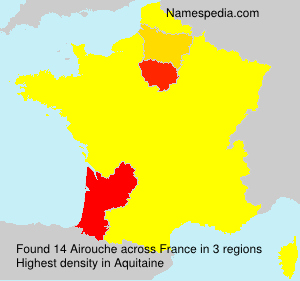Surname Airouche in France