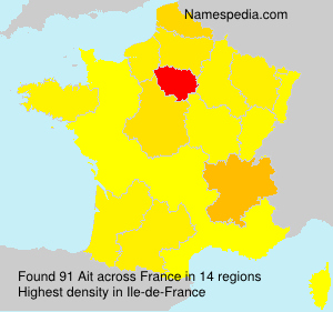 Surname Ait in France