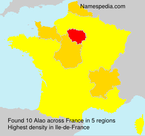 Surname Alao in France