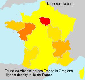 Surname Albasini in France