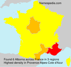 Surname Alborna in France
