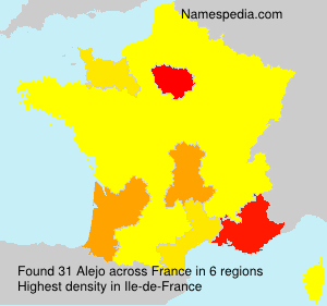 Surname Alejo in France