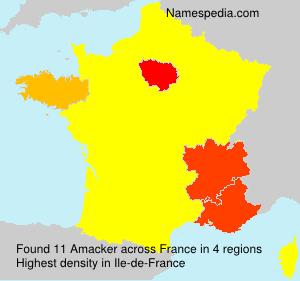 Amacker - France
