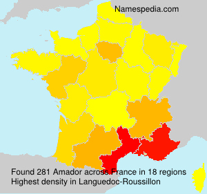 Surname Amador in France