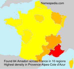 Familiennamen Amadori - France