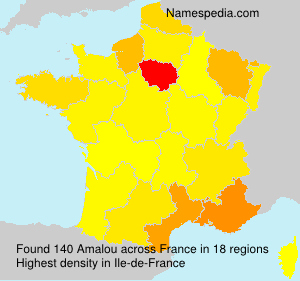 Surname Amalou in France