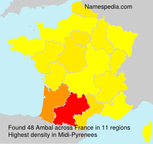 Surname Ambal in France