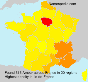 Surname Ameur in France