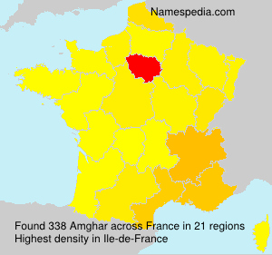 Surname Amghar in France