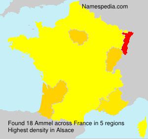 Familiennamen Ammel - France