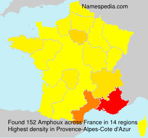 Surname Amphoux in France