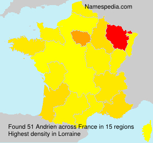 Surname Andrien in France