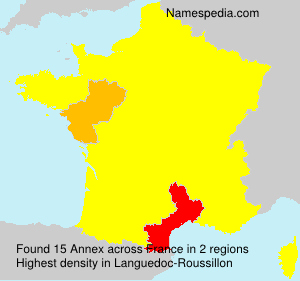 Surname Annex in France
