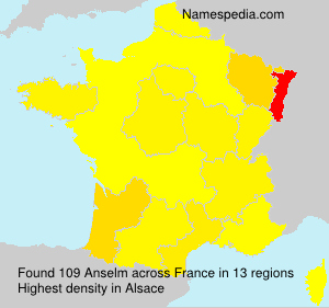 Surname Anselm in France