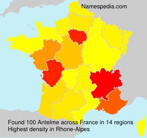 Surname Antelme in France