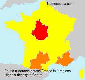 Surname Aouada in France