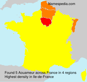 Surname Aouameur in France