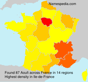 Surname Aoufi in France