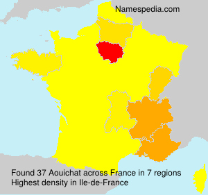Surname Aouichat in France