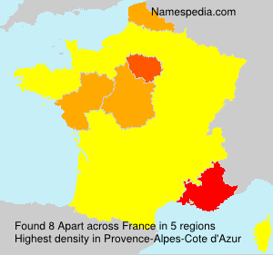 Surname Apart in France
