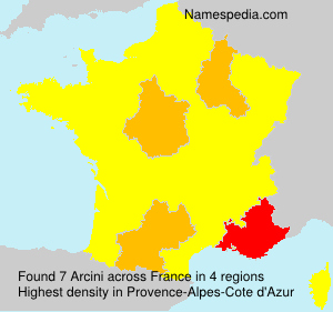 Surname Arcini in France