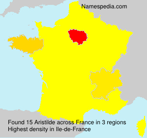 Surname Aristilde in France