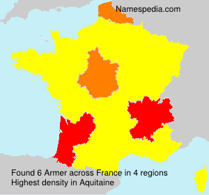Familiennamen Armer - France