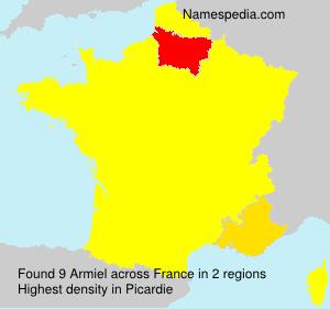 Surname Armiel in France