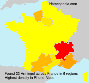 Surname Armingol in France