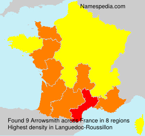 Surname Arrowsmith in France