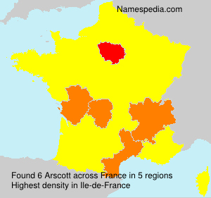 Surname Arscott in France
