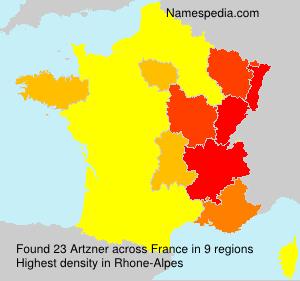 Familiennamen Artzner - France