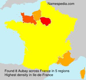Familiennamen Aubay - France