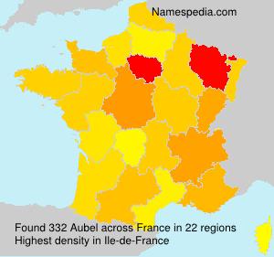 Familiennamen Aubel - France