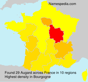 Surname Augard in France